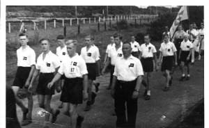 Airborne 1946 met Pegasus emblemen