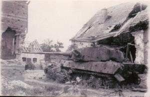 Tank Weverstraat 1944