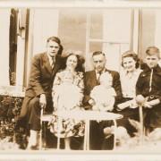Foto familie Jan Kleberg in oorlog