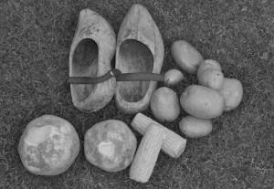 Koolraap, mais, aardappelen