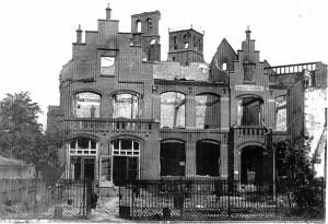St. Agnesschool 1944 vlak bij DE BRUG