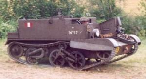 Rupsvoertuig Bren Carrier