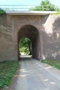 Mariendaal tunnel onder het spoor 2015