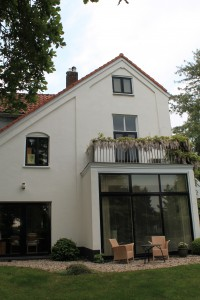 Achterkant huis in Oosterbeek 2015