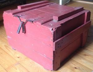 Kist gebruikt voor linnengoed