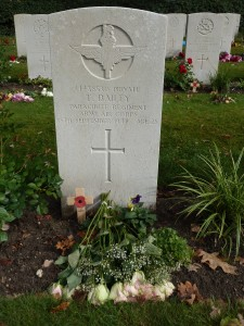 Het graf van Tom Bailey