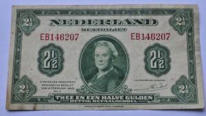 Geruild voor Nederlands biljet