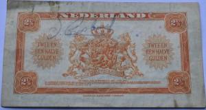 Geld biljet wat Engelse parachutisten bij zich hadden