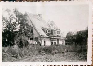 Het huis van de familie Ploeg in 1945